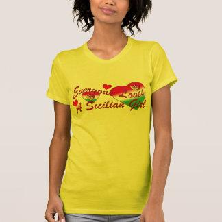 Loves Sicilian Girl (Dark) Tshirt