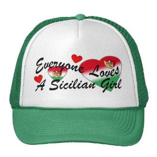 Loves Sicilian Girl Hat