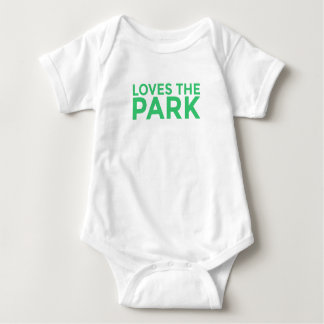 Loves The Park Baby Bodysuit