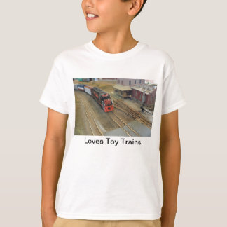 Loves Toy Trains Shirt