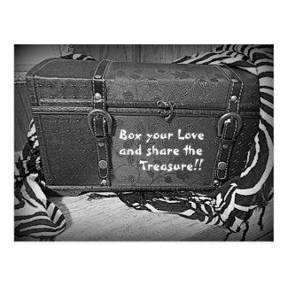Love's Treasure's Card Postcard