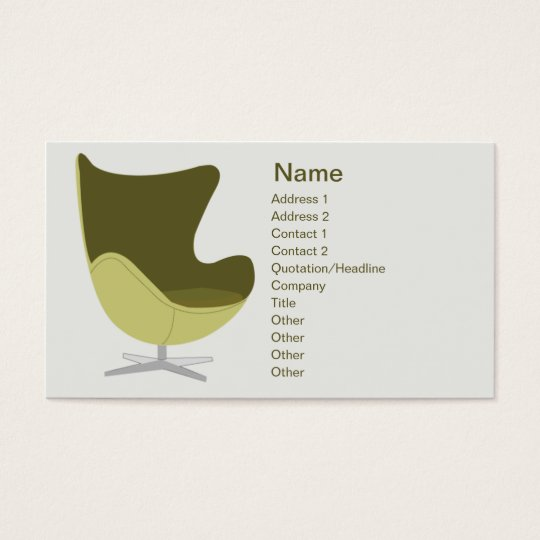 Loveseat - Business Business Card