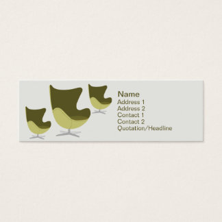 Loveseat - Skinny Mini Business Card