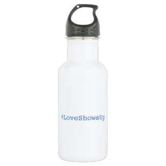 #LoveShowsUp Water Bottle