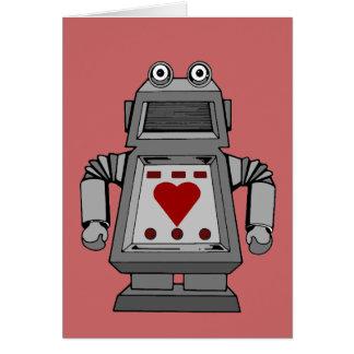 Lovesick Robot Greeting Card
