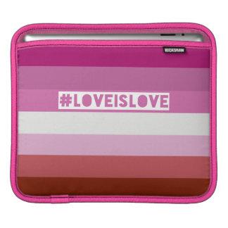 #LovesIsLove hashtag ipad sleeve