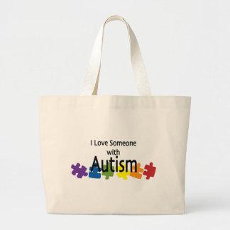 lovesomeone jumbo tote bag