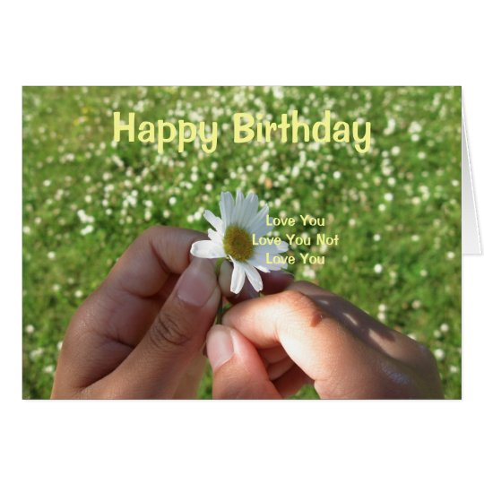 LovesU3, - Happy Birthday Card
