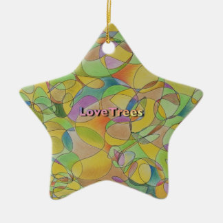 LoveTrees Star Ceramic Star Decoration