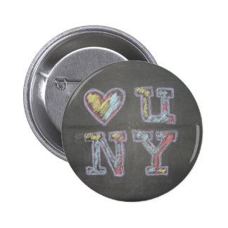 loveuny 6 cm round badge