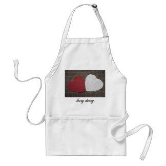 ...lovey dovey...apron