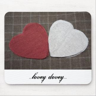 ...lovey dovey...mousepads