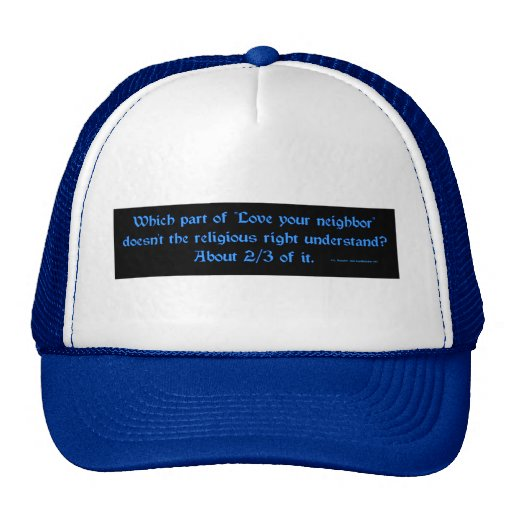 LoveYourNeighbor Trucker Hats