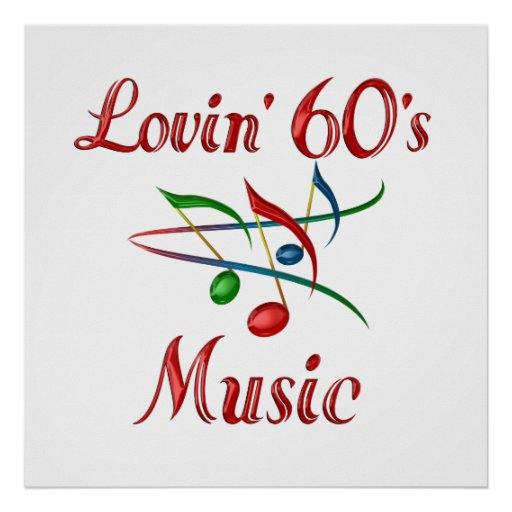 Lovin 60s Music Print