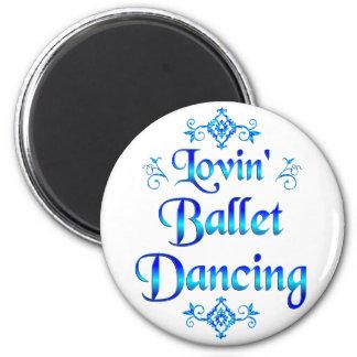 Lovin Ballet Dancing Magnets