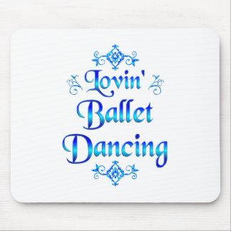 Lovin Ballet Dancing Mouse Pads