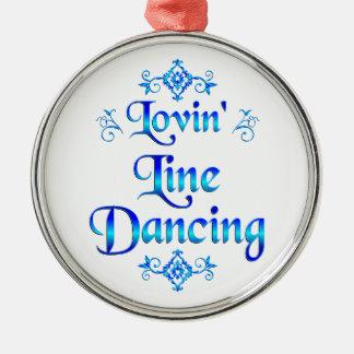 Lovin Line Dancing Christmas Ornament