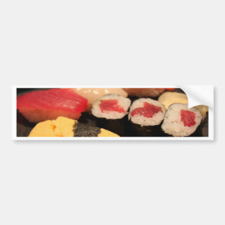 Lovin' my sushi bumper sticker