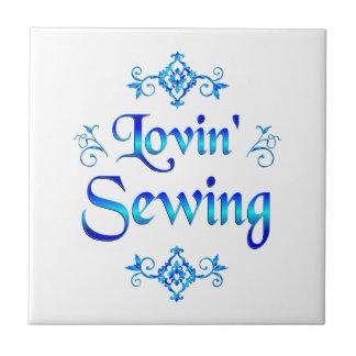 Lovin' Sewing Tile