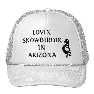 LOVIN SNOWBIRDIN IN ARIZONA KOKOPELLI CAP