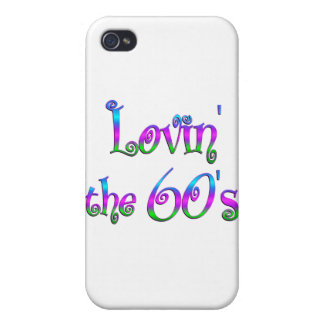 Lovin the 60s iPhone 4 cover