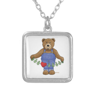 Loving Brown Bear Necklaces