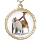 Loving Cat Friends Necklace