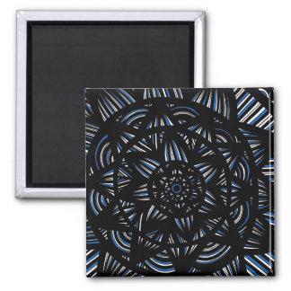Loving Cool Understanding Brilliant Square Magnet