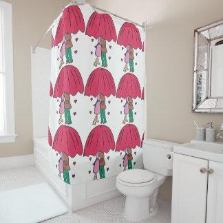 Loving Couple Shower Curtain