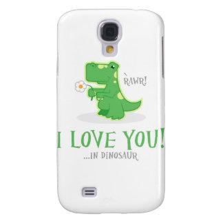 Loving Dinosaur Galaxy S4 Case