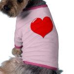 Loving dog pet clothes