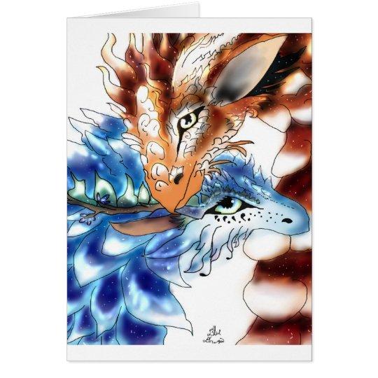 Loving Dragons Greetings card