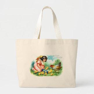 Loving Easter Greetings Jumbo Tote Bag