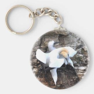 Loving Gannets Key Ring
