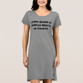 Loving Givers of Surplus Wealth as Charity p50 Dress