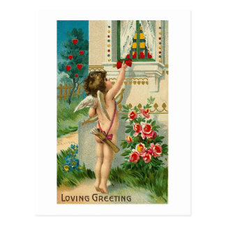 Loving Greetings Postcard