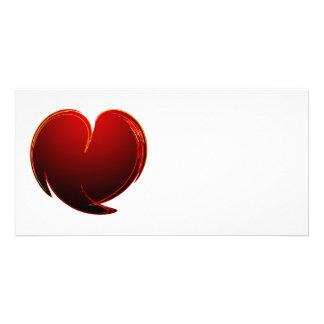 Loving Heart Photo Greeting Card