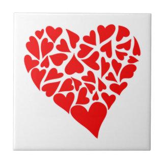 Loving Hearts Tile