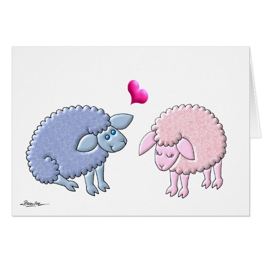 Loving Lambs (No Verse Inside) Card
