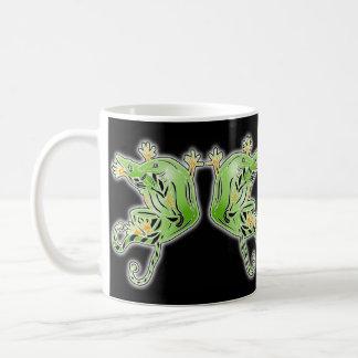 loving lizards basic white mug
