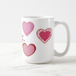 Loving Owl couple on a branch Mugs