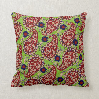 Loving Peace Green-Red Decor-Soft Pillows