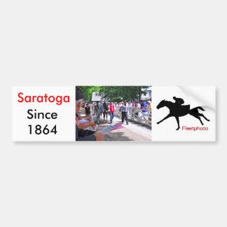 Loving Saratoga Car Bumper Sticker