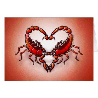 Loving Scorpions Cards