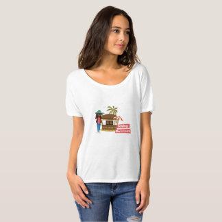 Loving Sierra Leone Slouch T-shirt for Women