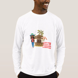 Loving Sierra Leone workout long sleeve shirt