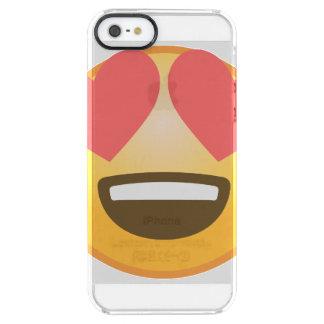 Loving Smile Emoji Clear iPhone SE/5/5s Case