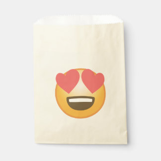 Loving Smile Emoji Favour Bags