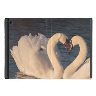 Loving Swans iPad Mini Case with No Kickstand