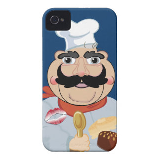 Loving the moustache cook, iPhone 4 case
